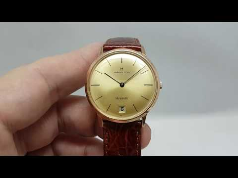 c1969 Hamilton Intra-Matic vintage watch with microrotor movement