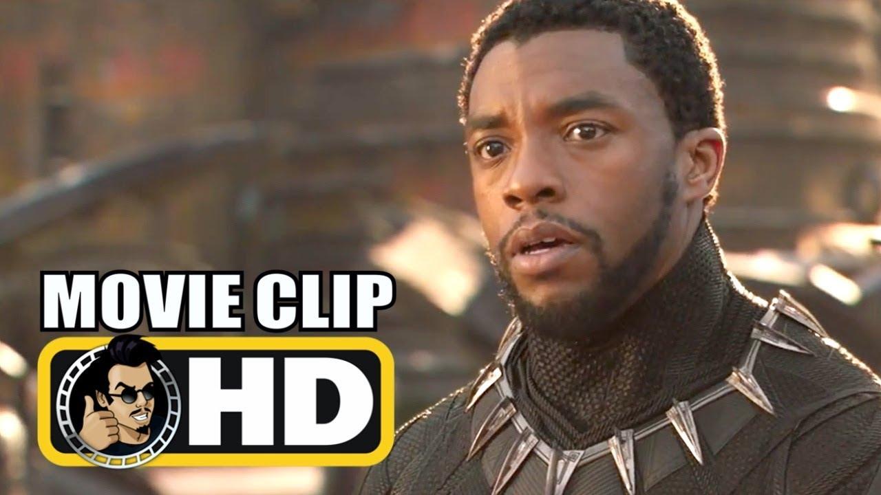 BLACK PANTHER (2018) Movie Clip