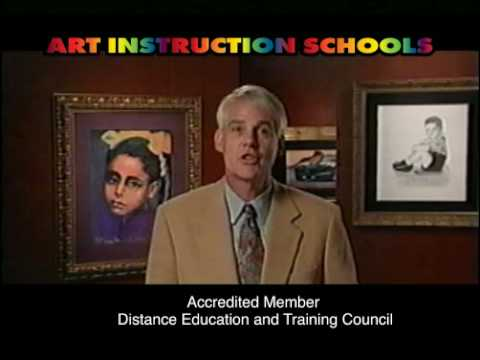 Art Instruction Schools - 2000 60 second commercial