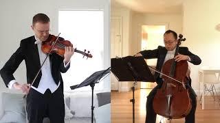 Ravel Sonata for Violin and Cello I. Allegro | David Southorn & Philo Lee