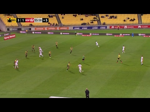 A-League 2018/19: Round 22 - Wellington Phoenix v Western Sydney Wanderers FC (Full Game)