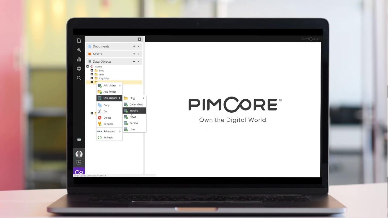 Pimcore - Piwik Analytics Integration & New CSV Import in Version 5.1