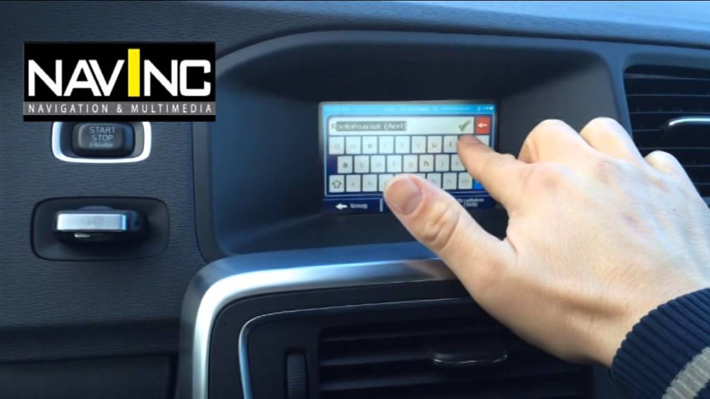 Volvo S80 2017 >> Volvo V60 aftermarket multimedia iGO navigation - YouTube