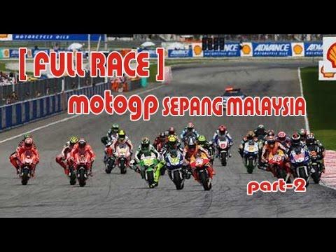 Motogp Sepang Malaysia  Full Race