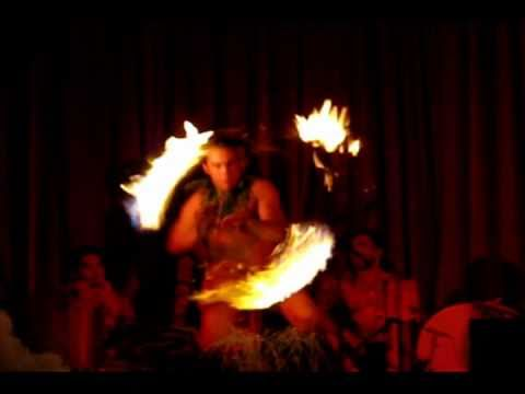 Hawaiian Fire Eater ~ Kawaihae Harbor Luau ~ 11-21-2010