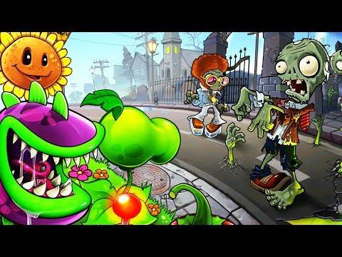 Игра РАСТЕНИЯ ПРОТИВ ЗОМБИ 2 Игровое видео про АТАКУ ЗОМБИ Plants Vs. Zombies 2