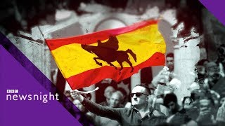 Spanish election: On the campaign trail with Vox - BBC Newsnight