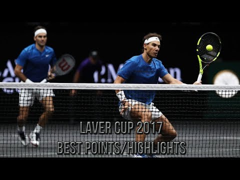Laver Cup 2017 Best Points/Highlights (HD)