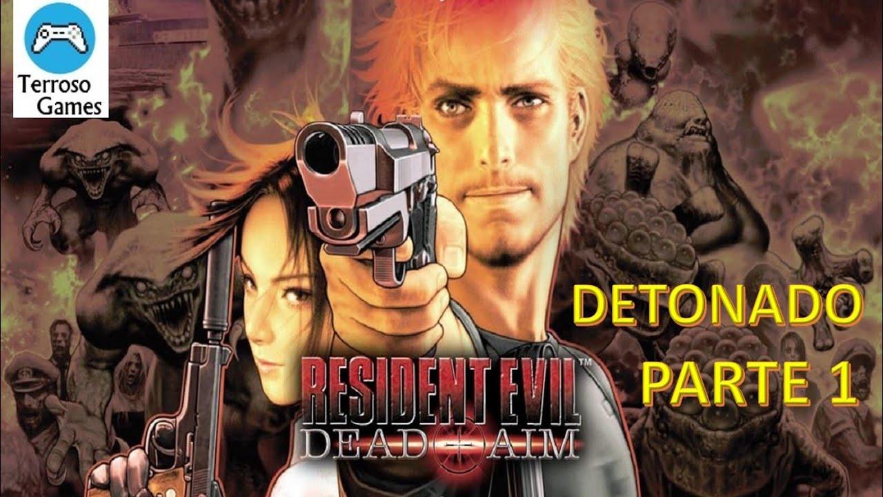 jogo resident evil dead aim ps2