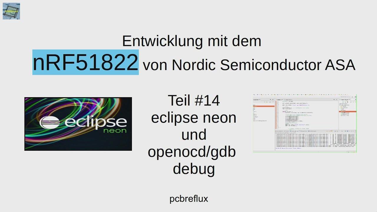nRF51822 #14: Entwicklung unter eclipse neon