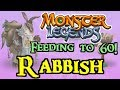 Monster Legends - Feeding to 60! : Rabbish