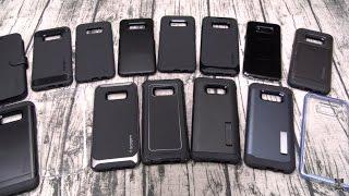 Samsung Galaxy S8 Plus Spigen Case Lineup