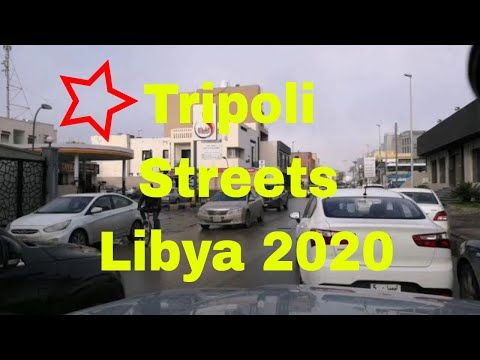 Tripoli Libya Streets 2020