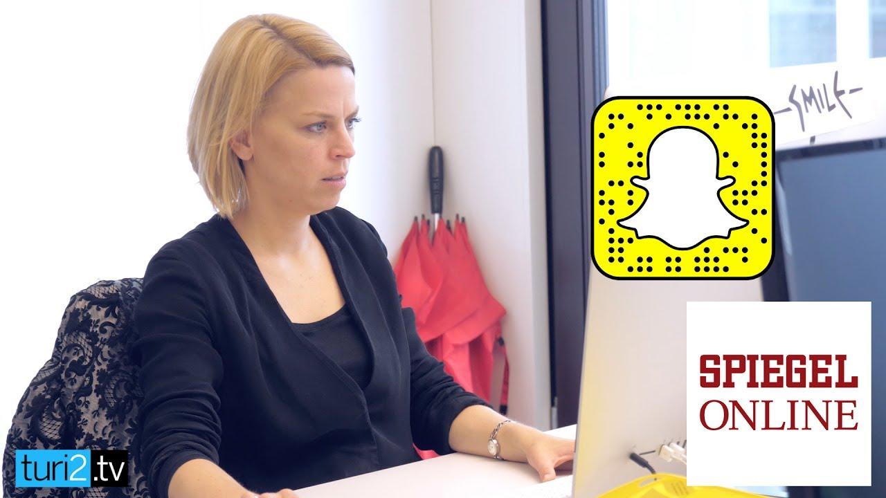 Wie arbeitet SPON auf Snapchat?