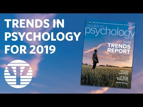 What Are The Top 10 Trends In Psychology For 2019