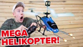 BRENNENDER HELIKOPTER CHALLENGE !!! 🔥 WTF 😱 II RayFox