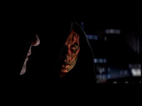 Darth Maul talks to Darth Sidious HD Star Wars Episode I The Phantom Menace
