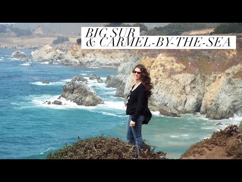 Big Sur Travel Vlog: A day in Carmel & Road Trippin through