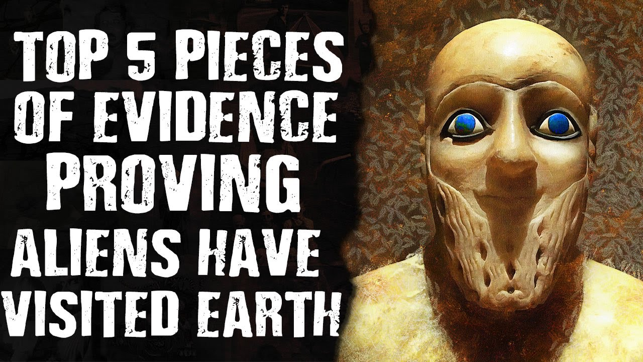 Top 5 Pieces of Evidence PROVING Aliens Have Visited Earth