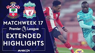 Southampton hung on for all three points against liverpool behind danny ings' second-minute goal.#nbcsports #premierleague #southampton #liverpool #dannyings...