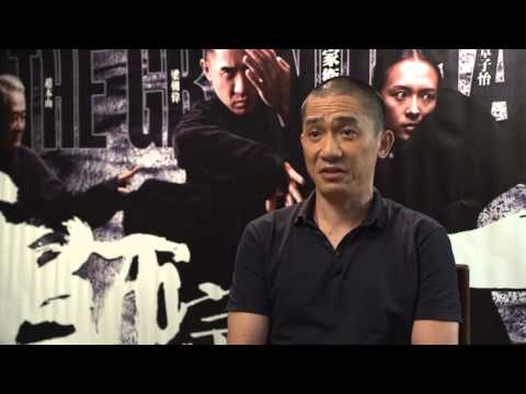 The Grandmaster: Tony Leung Chiu Wai On Set