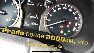 отзыв после 3000 км Toyota New Prado 2018. Инструкция по работе полного привода и систем помощи