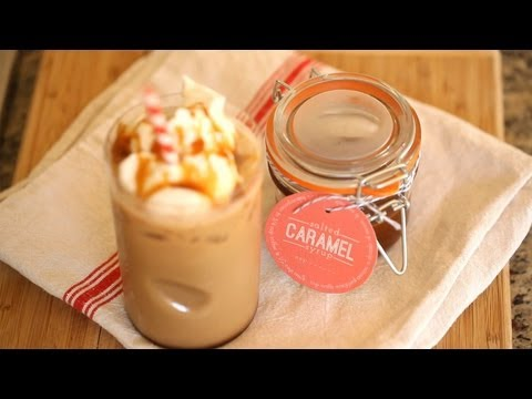 How to make caramel syrup for iced coffee