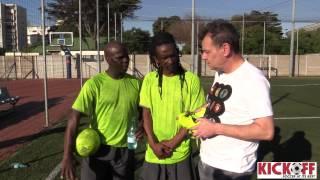 Nyathi, Thibos and KickOff hang out