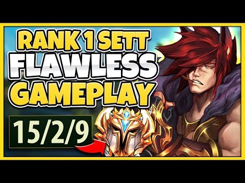 *NEW MAIN* THIS IS WHY I'M THE #1 SETT WORLD (CRAZIEST CARRY EVER) - League of Legends