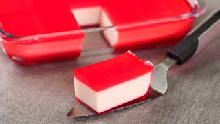 EASY MILK PUDDING  VALENTINES DAY SPECIAL RECIPE  LAYERED PUDDING  EGGLESS \u0026 WITHOUT OVEN