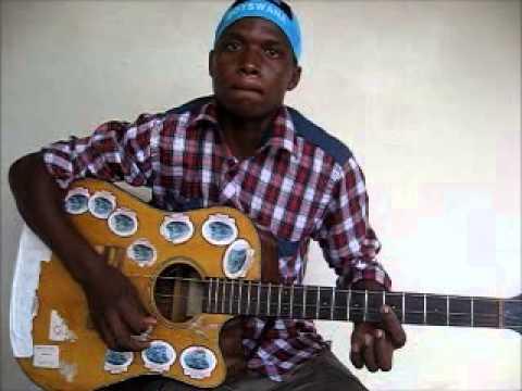 """Botswana Music Guitar -Thomo - """"Tune""""."""