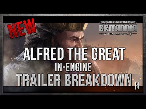 Alfred the Great In-Engine Trailer Breakdown | Total War: Thrones of Britannia Saga Title
