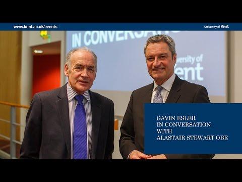 Gavin Esler In Conversation with Alastair Stewart
