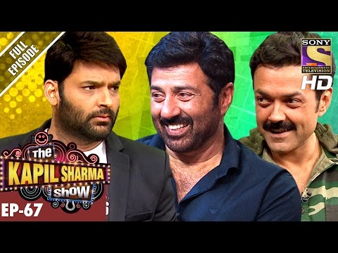 Thumbnail: The Kapil Sharma Show - दी कपिल शर्मा शो - Ep-67-Sunny Deol & Bobby Deol In Kapil's Show–11th Dec 16