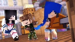 Minecraft - WHO'S YOUR DADDY: A MOONKASE DESTRUIU A CASA