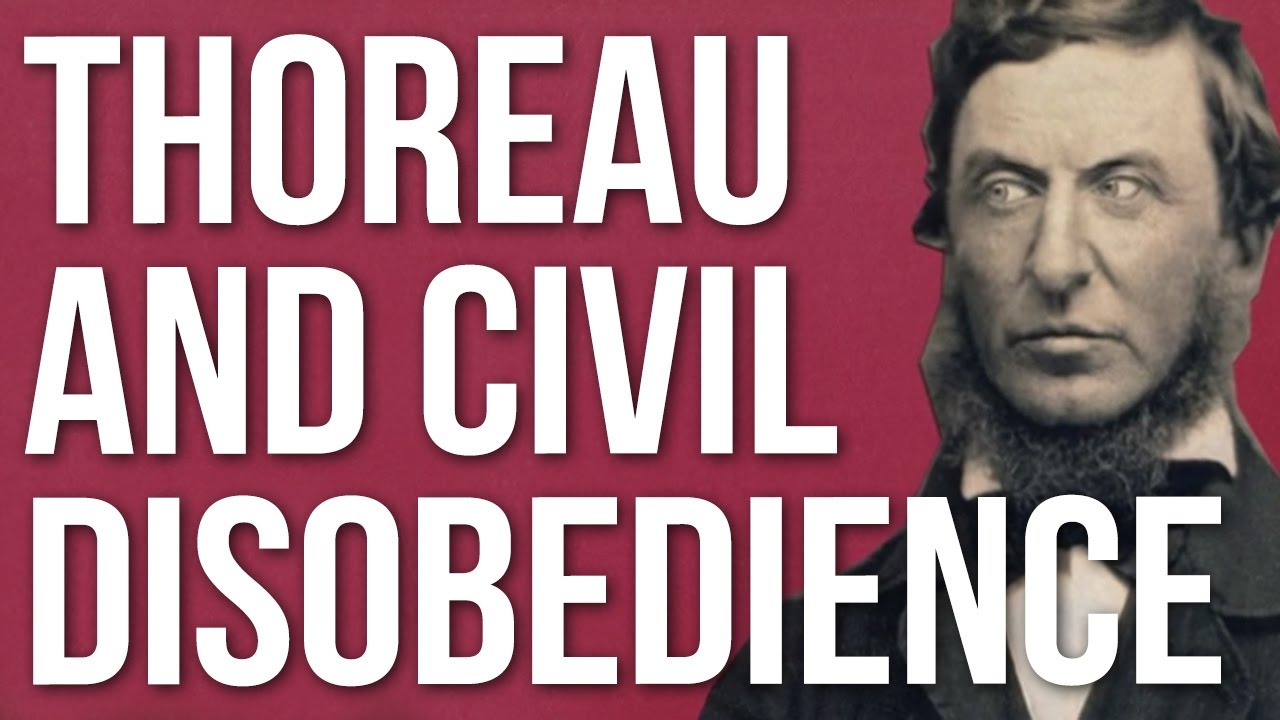 Thoreau And Civil Disobedience Youtube
