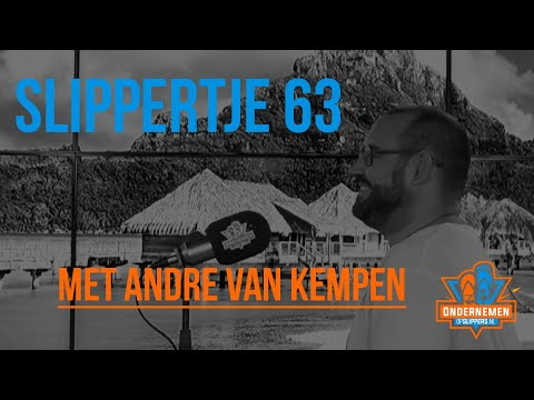 Slippertje 63: Van Burn-out tot Cocaïneverslaving naar Spiritualiteit met André van Kempen