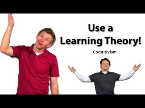 Use a Learning Theory: Cognitivism