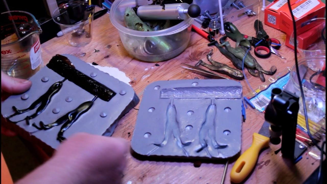 Making a Mold for Soft Plastic Lures