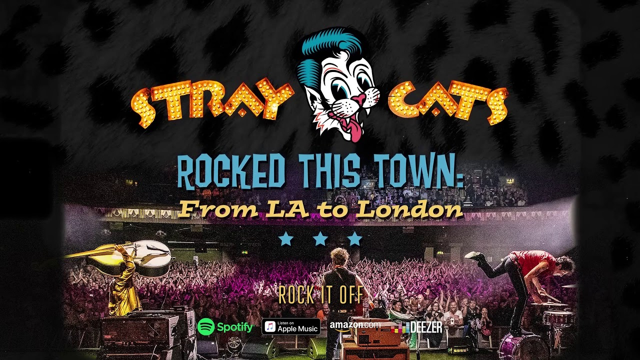 Stray Cats - Rock It Off (LIVE)