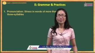 Luyện thi Tiếng anh 2013 - Higher Education - Grammar - Practices