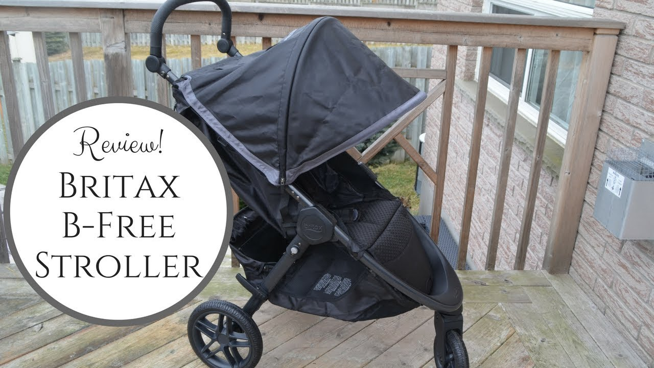 New 2018 Britax B Free Stroller Review