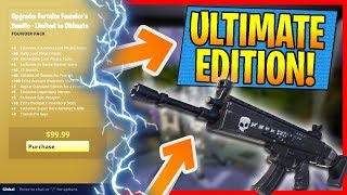 FORtnite UNLIMITED EDITION Save the World