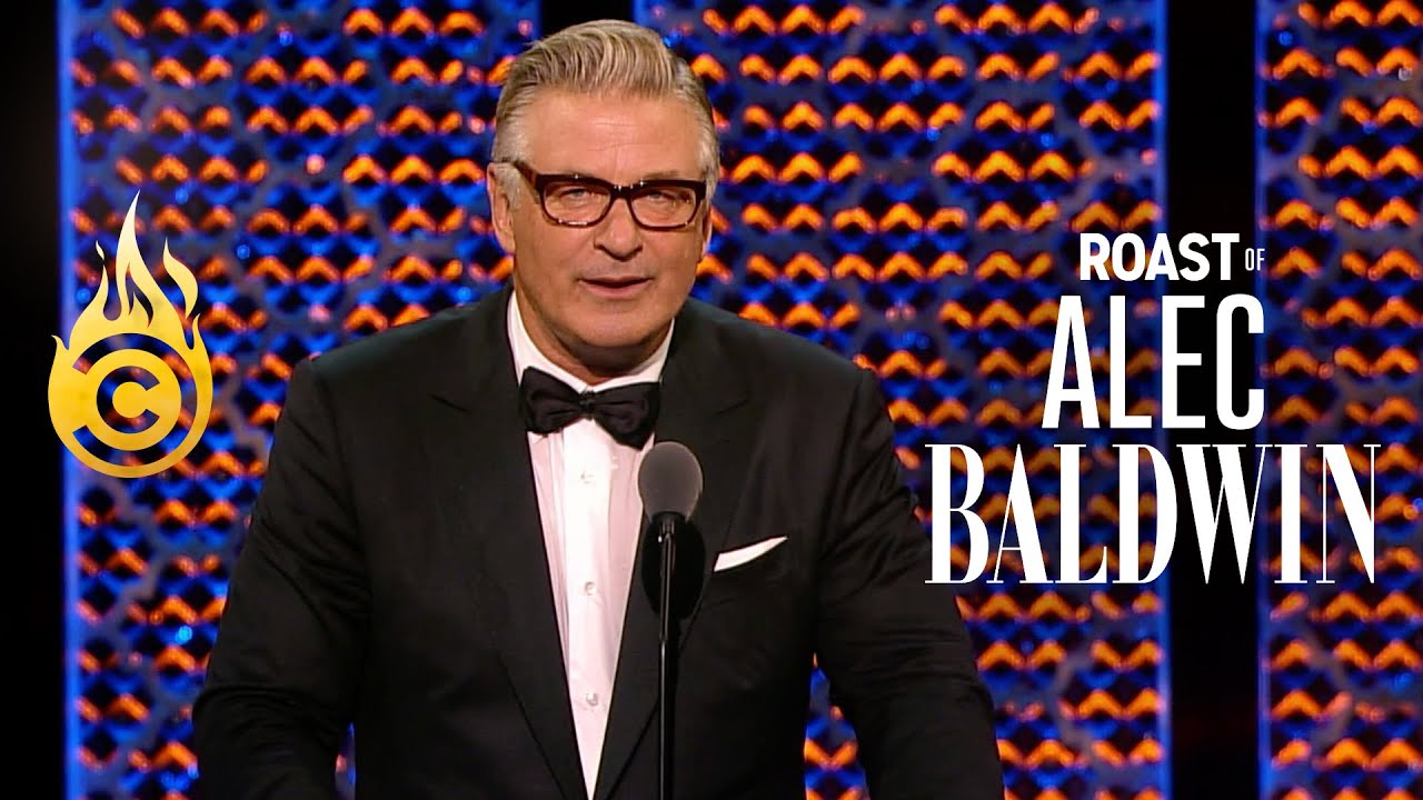 The Dais Feels the Wrath of Baldwin - Roast of Alec Baldwin