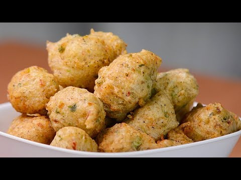 Trini Saltfish Accra Recipe