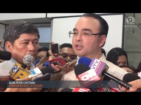 Cayetano wary of 'legally binding' Code of Conduct in South China Sea