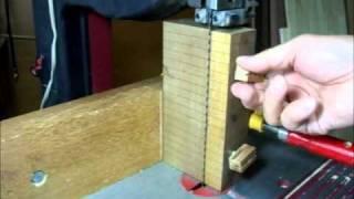 バンドソー研ぎ補助具 bandsaw Sharpening Jig