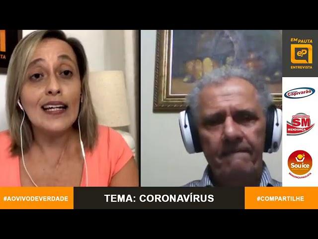 Em Pauta Entrevista infectologista Dr. Mendes