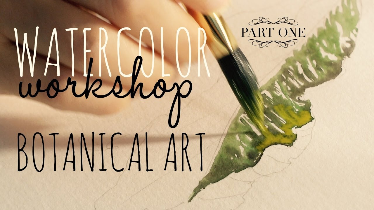 4aa3d454ecb22 Introduction to advanced watercolour techniques ~ How to use Watercolors:  Realistic Leaf Painting