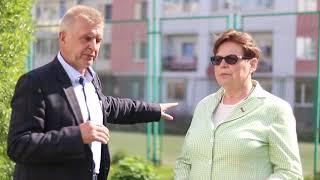 Депутаты Светлана Малик и Сергей Федоров на объектах благоустройства 1 округа